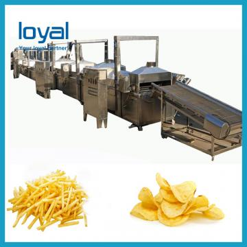 High Output Automatic Potato Chips Making Production Line Machine Potato French Fries Equipment