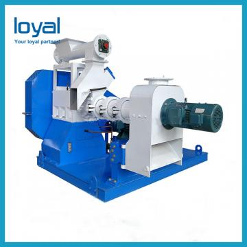 Steam heating Twin screw extruder machine for fish feed, pet animals food