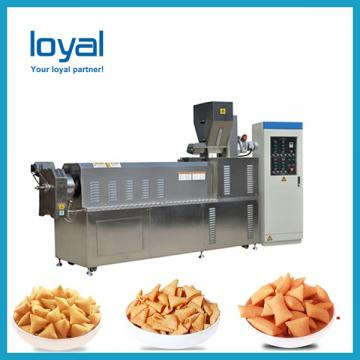 Crispy snacks fried cheetos shell bugles pizza roll machine production line