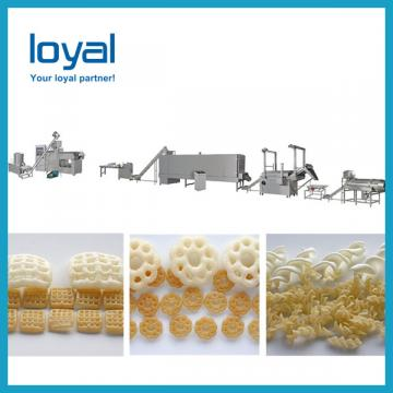 2019 China Screw shell pellet chips fried bulges extruded making machine