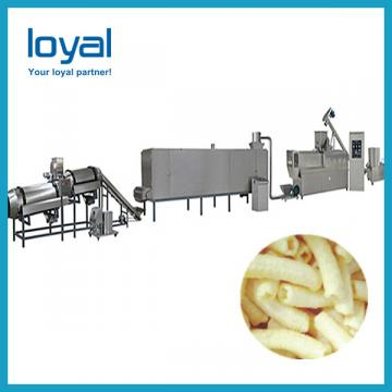 3D Bugles Chips Corn Cone Snack Pellets Extruder Machine Production Line