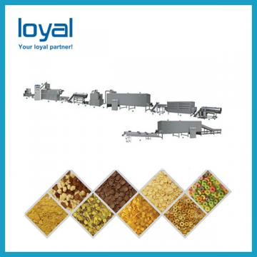 Healthy grains processed colorful breakfast cereals snacks making machine