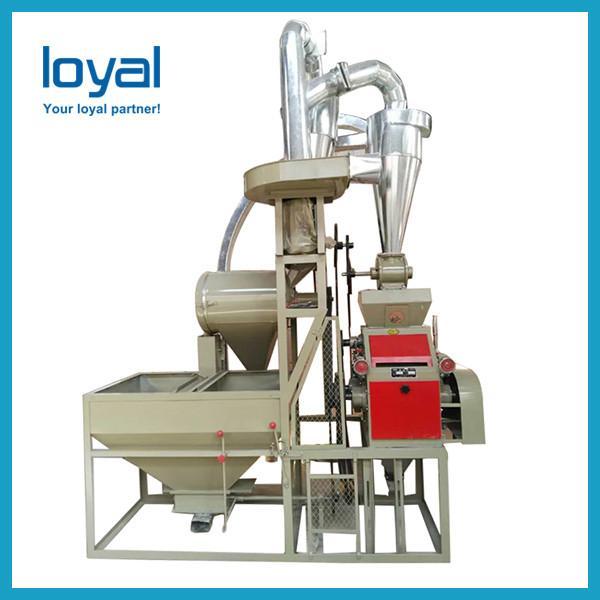 Wheat maize corn rice cassava jowar flour making used home small wheat flour milling machine #2 image