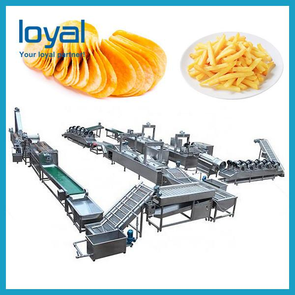 Potato french fries equipment/potato chips production line price/frozen french fries production line #2 image