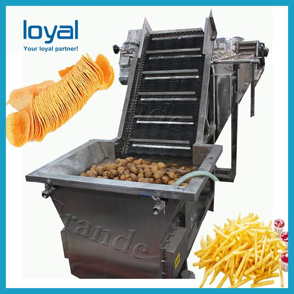 Potato french fries equipment/potato chips production line price/frozen french fries production line #1 image