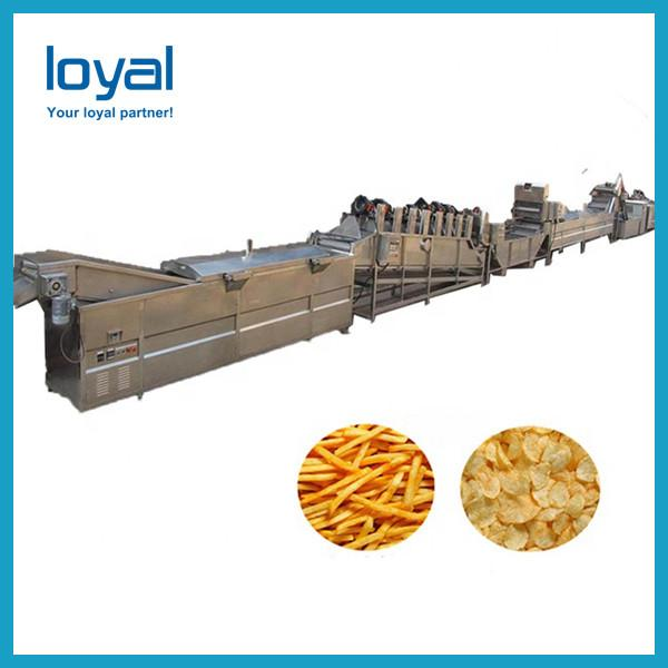 Small Potato Chips Making Machine Semi - Automatic Frozen French Fries Equipment #3 image