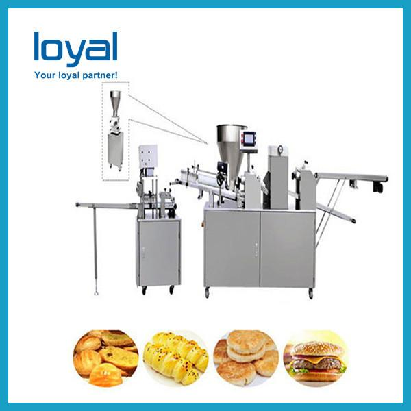 Automatic pizza base making machine production line including tray arranging for bakery industry high quality best choice #1 image