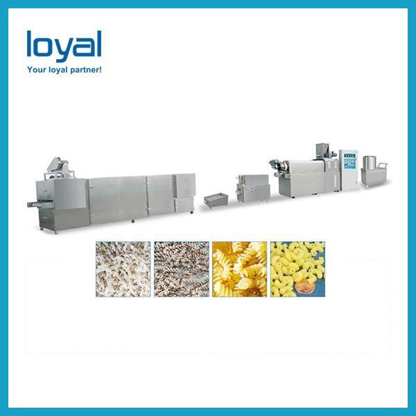 Breakfast Corn Flakes Snacks Frying Machine , Snack Food Processing Equipment #1 image