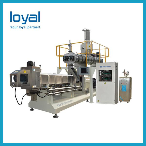 2019 China Screw shell pellet chips fried bulges extruded making machine #2 image