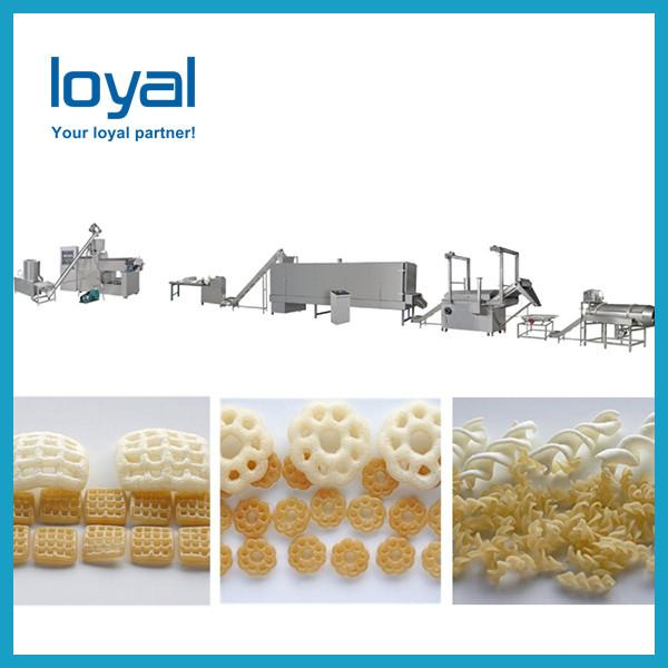 2018 China Best price Screw,Shell extruded fried snacks making machine #2 image