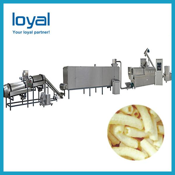 Commercial extruding corn flour snack tortilla bugles chips maker production #1 image