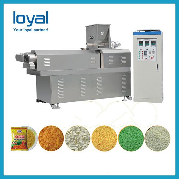 Extruded wheat flour doritos bugles chips snack food production line #1 image