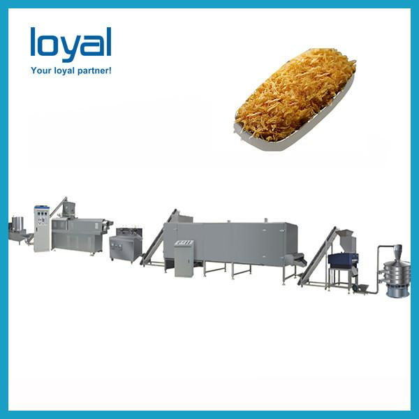 Commercial extruding corn flour snack tortilla bugles chips maker production #2 image