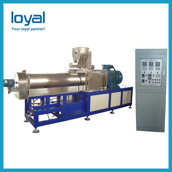 Commercial extruding corn flour snack tortilla bugles chips maker production #3 image