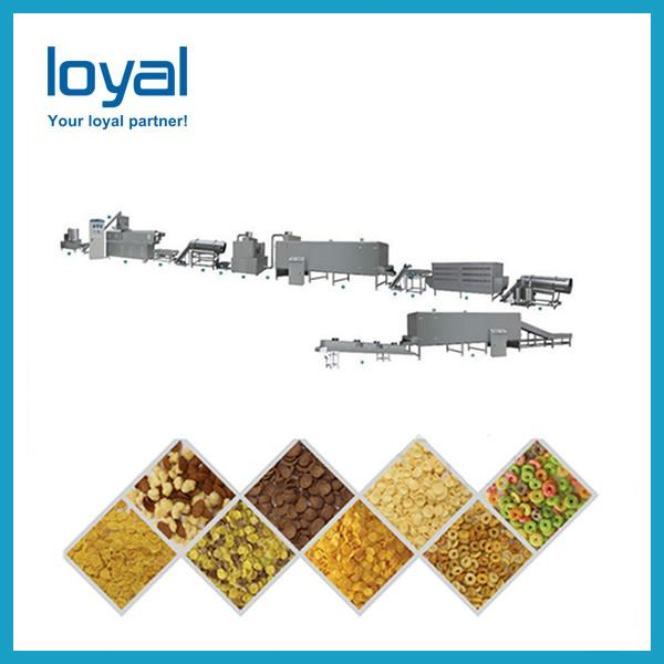 Healthy grains processed colorful breakfast cereals snacks making machine #1 image
