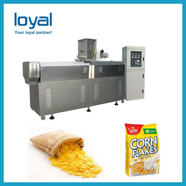 Roasted Corn Flakes processing line/breakfast cereal making machine #2 image