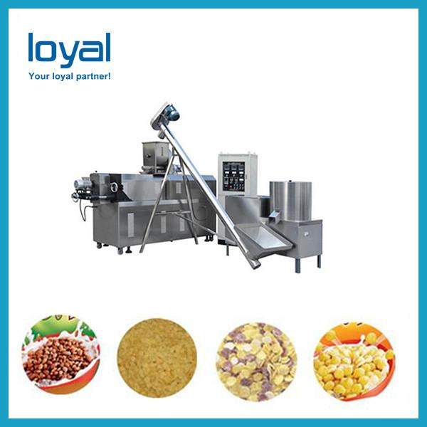 Healthy grains processed colorful breakfast cereals snacks making machine #3 image