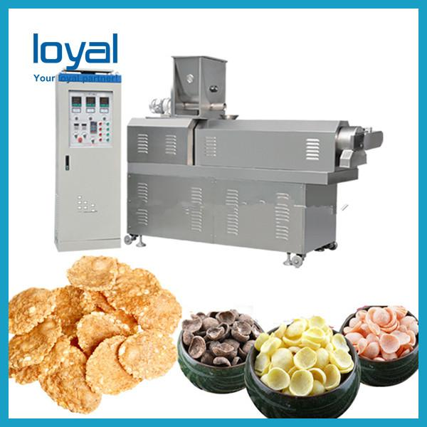 Roasted Corn Flakes processing line/breakfast cereal making machine #3 image